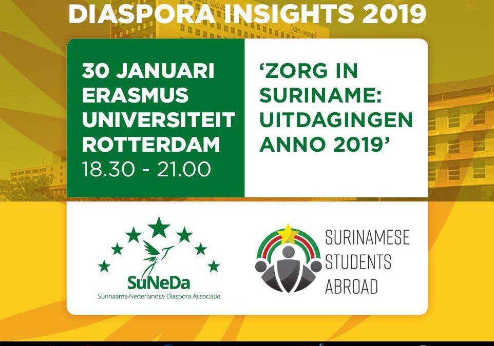 Diaspora Insights 2019 – Zorg in Suriname