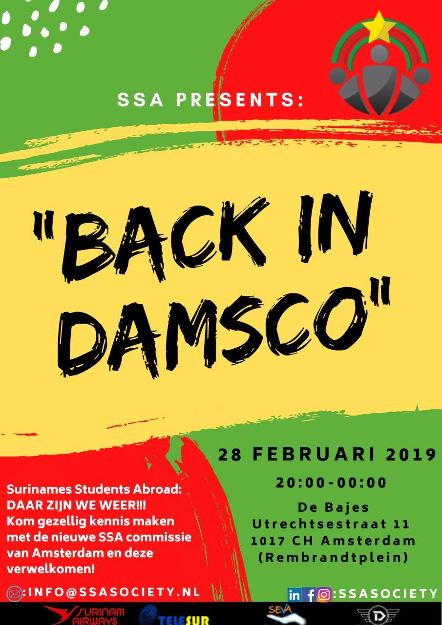 Back in Damsco