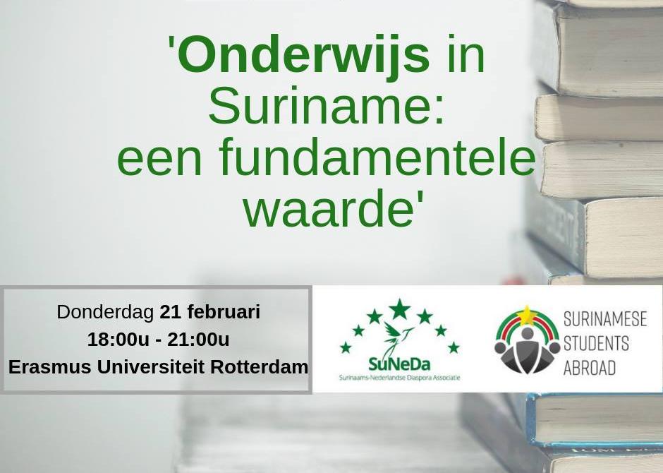 DIASPORA INSIGHTS 2019 – Onderwijs in Suriname: een fundamentele waarde
