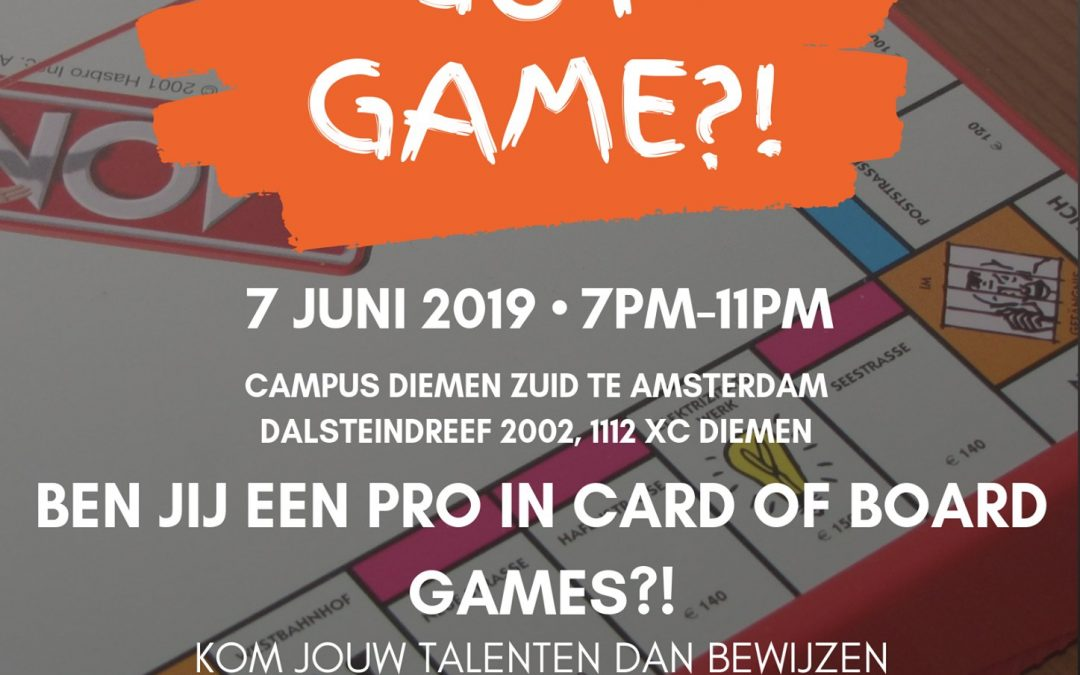 Game Night SSA Amsterdam